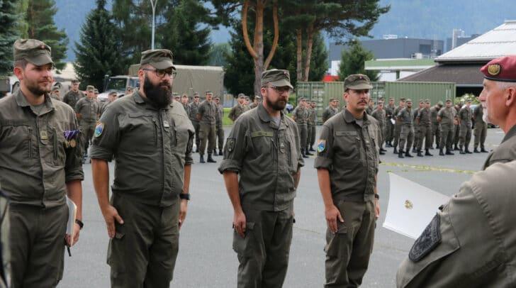 In den 62 Einsatztagen leisteten die Milizsoldaten an die 175.000 Mannstunden.