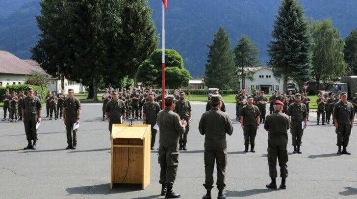 Seit 18. Mai 2020 unterstützten bis zu 135 Milizsoldaten die Kärntner Polizei und Behörden.