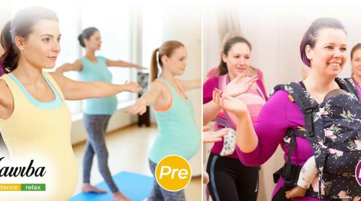 Dein Baby tanzt mit – im Bauch oder der Trage.