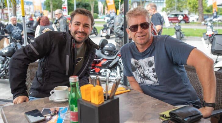 Rockige Harley-Atmosphäre beim Sommerfest am 1. August.