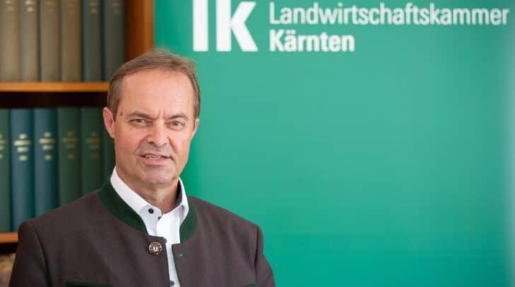 LK-Präsident Johann Mößler