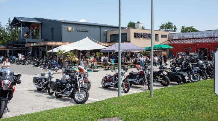 Beim Sommerfest kommen Biker-Fans voll auf ihre Kosten.