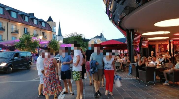 In den Tourismus-Hotspots wie Velden wurde dieses Wochenende wieder die Maskenpflicht kontrolliert.