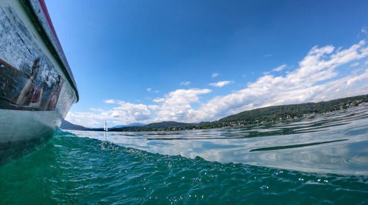 Heute und morgen herrscht perfektes Badewetter in Kärnten. Morgen steigen die Temperaturen sogar auf bis zu 34 Grad.