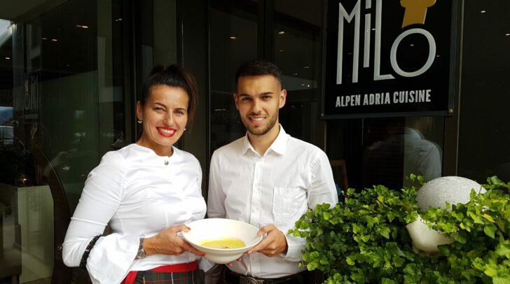 Svetlana und Dean Aleksic freuen sich auf eine etwas andere Kirchtagswoche im Restaurant Milo.