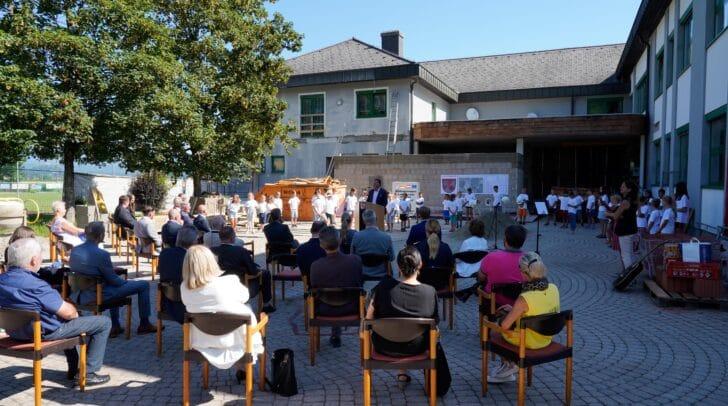 Spatenstich beim Bildungscampus St. Jakob im Rosental.