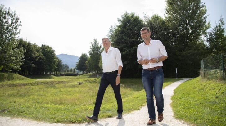 Bis 2024 sollen jährlich 100 Millionen Euro zusätzlich in Projekte investiert werden. Das gaben heute Landesrat Martin Gruber und Landeshauptmann Peter Kaiser bekannt.