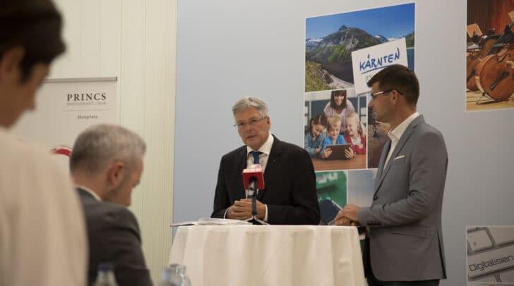 In einer heutigen Pressekonferenz wurden die Investitionspläne bekanntgegeben.