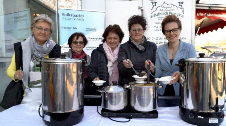 Die Kirchtagssuppe der Volkspartei Frauen wird natürlich selbst zubereitet. (Archivfoto)