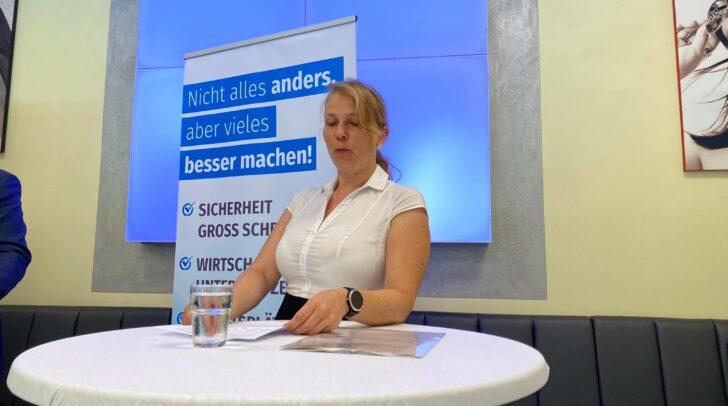 Die FPÖ-Klubobfrau Katrin Nießner fordert die Rückerstattung ungerechter Corona-Strafen.