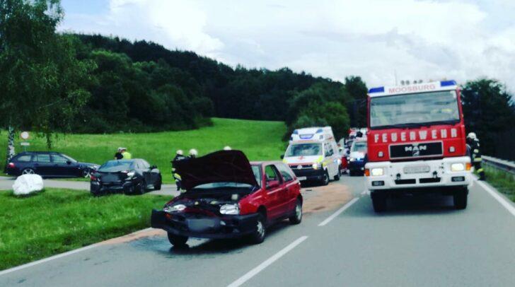 Auf der B95 Turracher Straße ist es zu einem Verkehrsunfall gekommen.