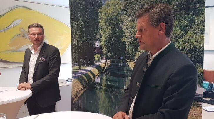 Schwerpunkte der heutigen Pressekonferenz mit Vizebürgermeister Wolfgang Germ und Stadtrat Christian Scheider waren die Messehalle, das Hallenbad und die Innenstadt.