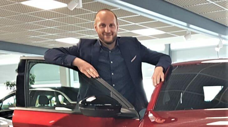 Verkaufsleiter Mario Kogler
