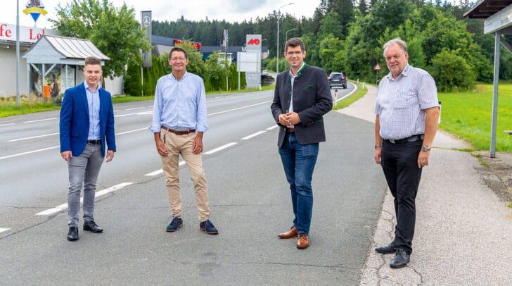 """LR Martin Gruber: """"Praktisch jeder Pendler, der von Feldkirchen Richtung Klagenfurt unterwegs ist, muss diesen Straßenabschnitt benutzen."""""""