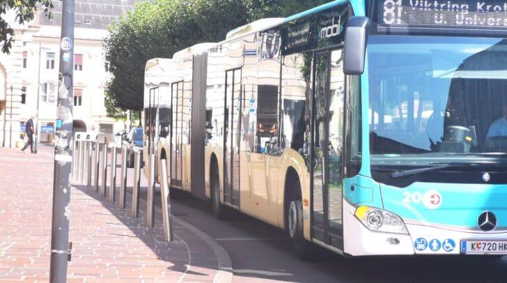 Heute Nachmittag gab sich ein Unbekannter als Fahrkontrolleur aus. Der Lenker des Busses durchschaute das Vorhaben des Unbekannten jedoch.