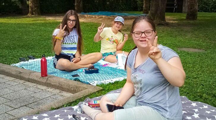 Viel Freude und Spaß bereiteten die inklusiven Sommertage