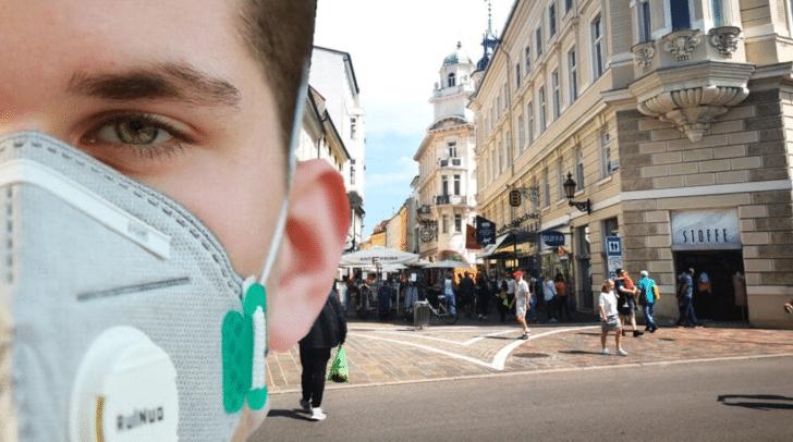 Zwei Corona-Neuinfektionen wurden vor kurzem im Bezirk Klagenfurt Stadt gemeldet.