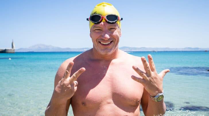"""""""Ocean Man"""" André Wiersig kommt zum Event an den Wörthersee."""