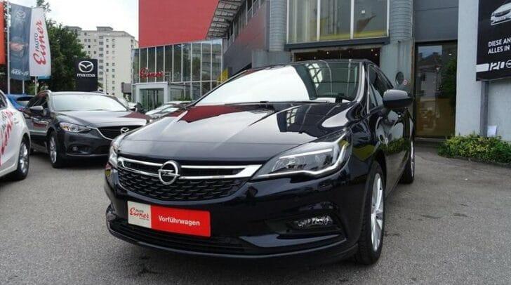 Der Opel Astra kommt sportlich elegant daher.