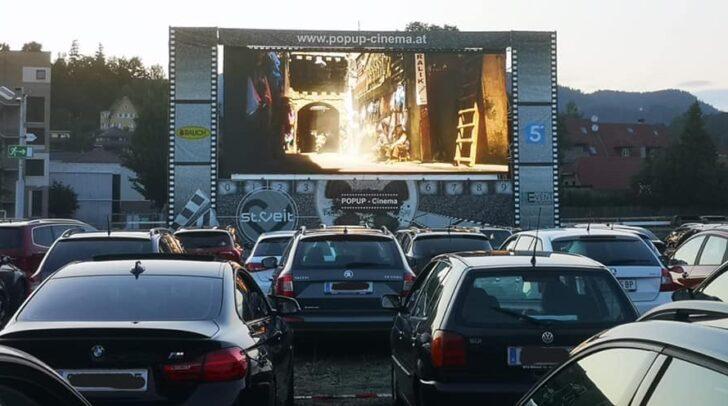 Beim letzten Popup-Cinema in Feldkirchen hast du die letzte Möglichkeit nostalgische Kinoluft zu schnuppern!