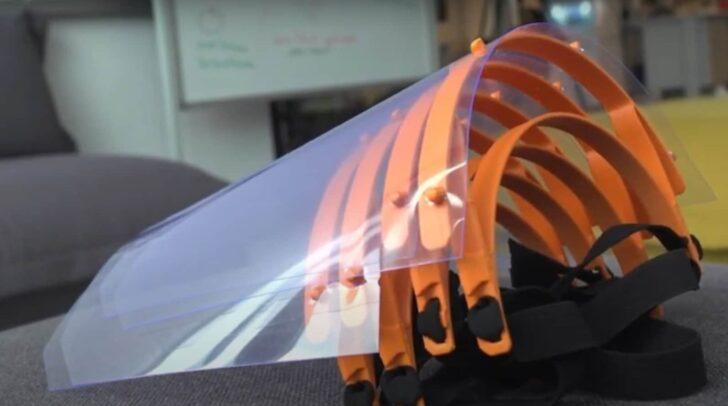Smart Lab FH Kärnten entwickelte Schutzmasken.