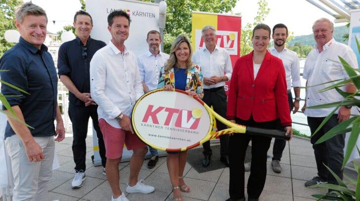 Im Rahmen einer Pressekonferenz informierten die Veranstalter über das WTA 125K-Challlenger Damen-Tennisturnier