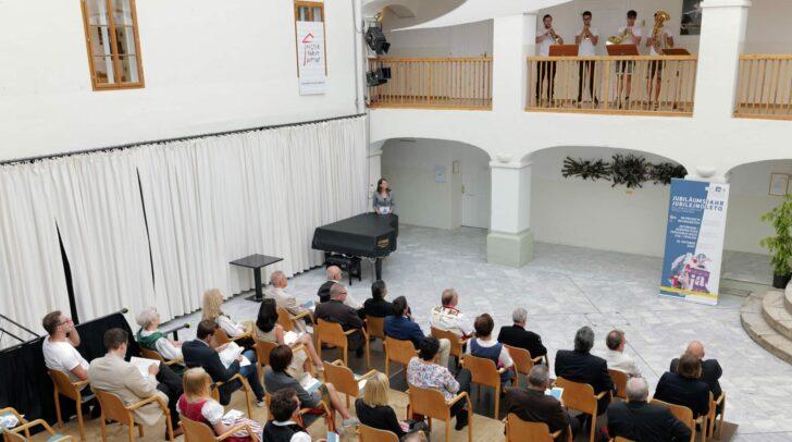 Eröffnung der Mobilen Ausstellung in Feldkirchen.