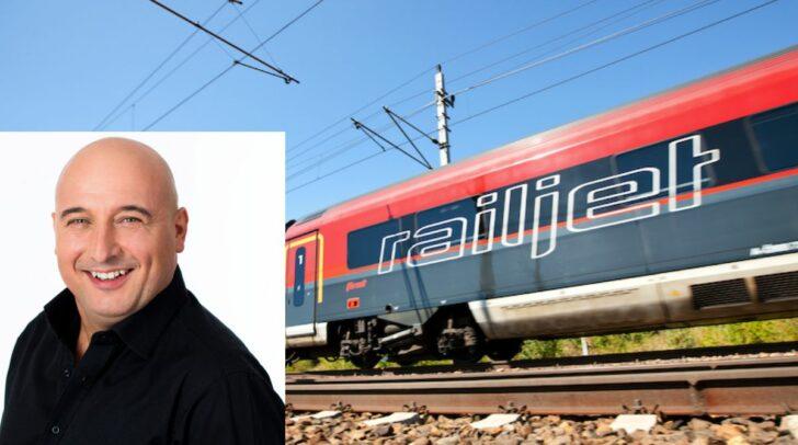 Ein Schock für viele Reisende, der Raijlet entgleiste gestern. Auch der bekannte Komiker Christoph Fälbl saß darin.