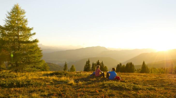 Erreiche Kärntens bezaubernde Bergwelt ganz einfach mit den kostenlosen Wandertaxis.
