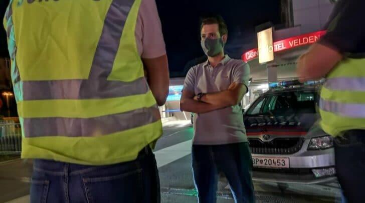 Um sich selbst ein Bild von der Situation zu machen, war der Verkehrslandesrat Sebastian Schuschnig gestern vor Ort.