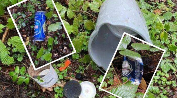 Vizebürgermeister Wolfgang Germ war heute über den vielen Müll auf dem Malleweg in Wölfnitz überrascht und verärgert.