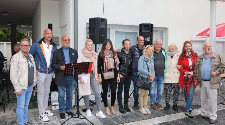 Bei der gestrigen Veranstaltung mit so manchen prominenten Gästen konnten knapp 6.000 Euro für eine junge Familie aus Weißenstein gesammelt werden.