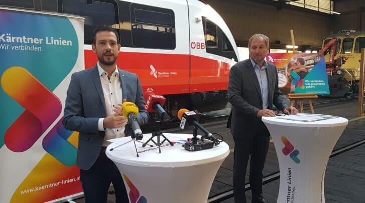 """Schuschnig: """"Im Zuge der Umsteigerwoche kann eine Woche lang, jedes öffentliche Verkehrsmittel in Kärnten kostenlos genutzt werden!""""."""
