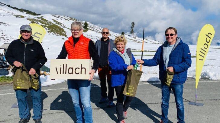 Naturpark- und Nachhaltigkeitsreferentin Vizebürgermeisterin Irene Hochestter-Lackner teilte am vergangenen Wochenende die ersten