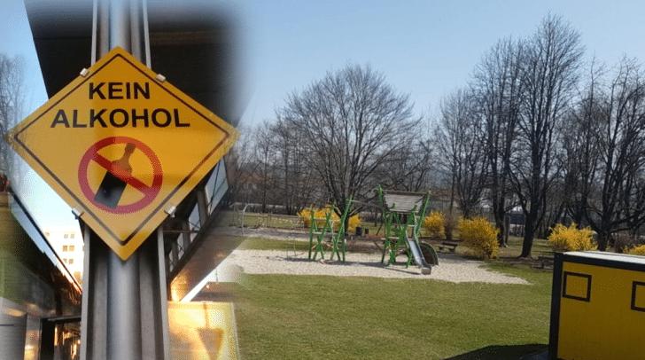 Auf den Spielplätzen sollen sich immer wieder alkoholisierte Kleingruppen niederlassen. Daher wird nun ein Alkoholverbot gefordert.