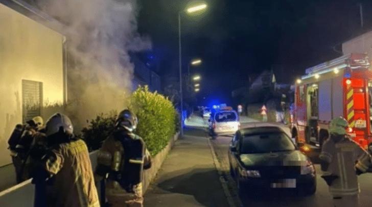 Die Kameraden der Berufsfeuerwehr Klagenfurt standen im Brandeinsatz.