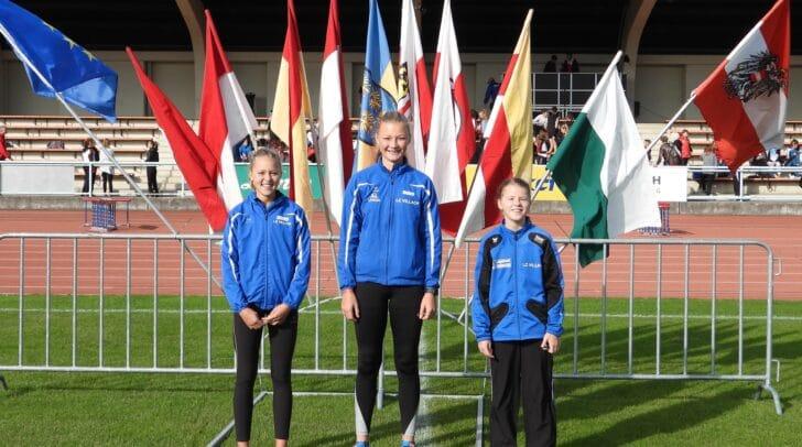 Der LC Villachstellte mitSonja Schustereder,Melissa PekastnigundAlissa Liebharderstmals wieder ein U14 Mädchenteam für diese Meisterschaft.