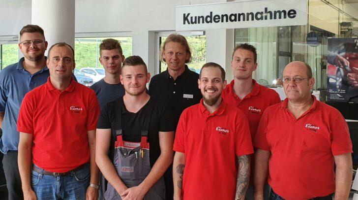 Das Verkaufsteam bei Eisner Auto St. Veit ist nun auch bei Volkswagen für eure Anliegen da.