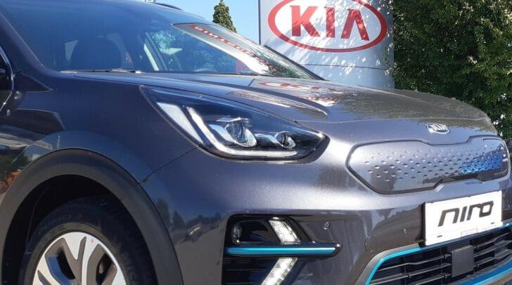 Der KIA e-Niro wird zur Verfügung gestellt von Autohaus Sintschnig.