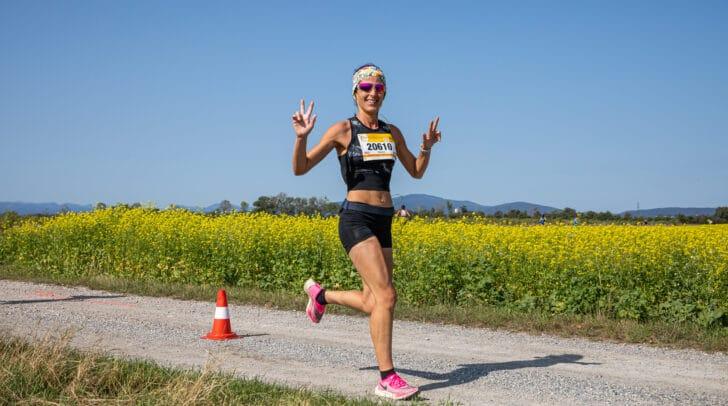 Läuferin Nadin Kazianka vom ASKÖ Villach