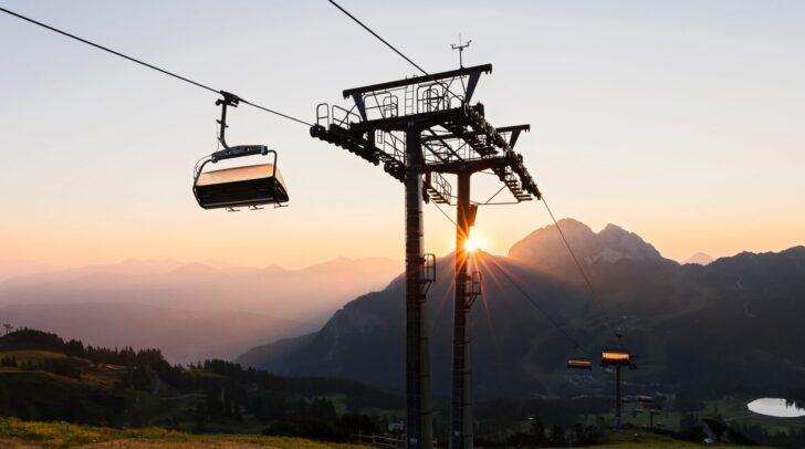 Die meisten Seilbahnunternehmen in Kärnten sind bis weit hinein in den Herbst in Betrieb.