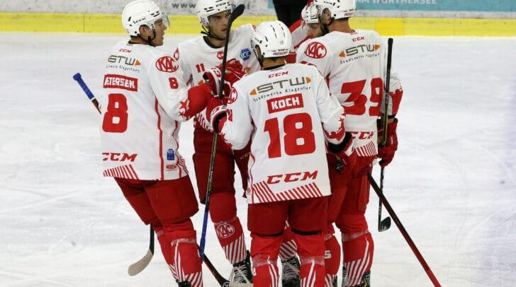 Am morgigen Sonntag stehen die Rotjacken des EC KAC gegen den Tabellenführer EC Red Bull Salzburg auf dem Eis.