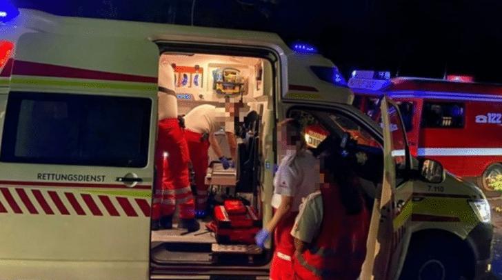 Die Person wurde an die Rettungskräfte übergeben.