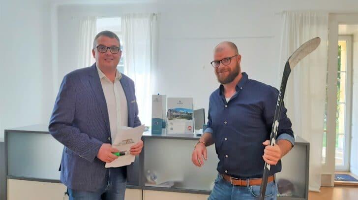 Markus Schlacher hat einen neuen Karriereweg eingeschlagen - er ist nun ausgebildeter Immobilienmakler.