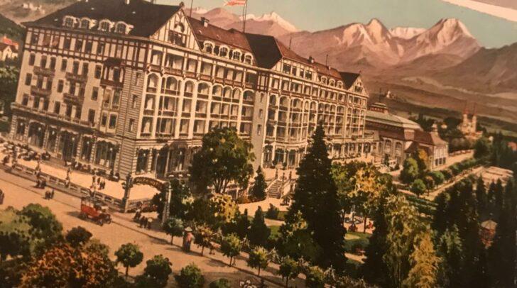 Das Villacher Parkhotel zählte in der Zeit vor dem Ersten Weltkrieg zu den prächtigen Großhotels der Habsburgermonarchie.