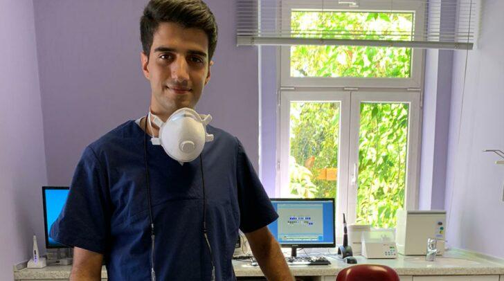 Der neue Zahnarzt aus Obervellach heißt Jubin Khalili.