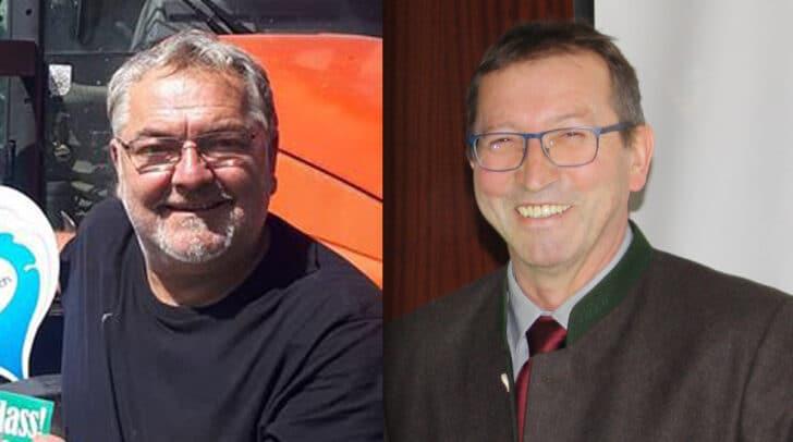 Erstmals in der Genossenschaftsgeschichte der Molkerei: Zwei Kandidaten bei Delegiertenwahl um den Obmannsessel. Links Roman Berger, rechts Albert Petschar