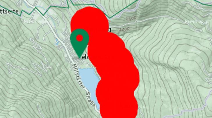 Im Bereich Feld am See gibt es aktuell Stromausfälle