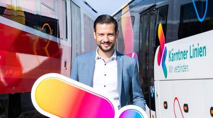 LR Sebastian Schuschnig präsentierte ein umfangreiches Upgrade für den öffentlichen Verkehr in Kärnten.
