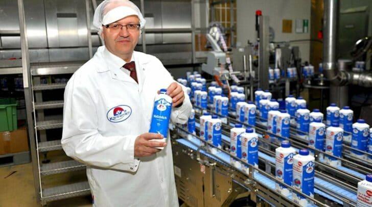 Wo Milch draufsteht, soll auch Milch drin sein! VÖM-Präsident Petschar appelliert an die Politik in Österreich und auf EU-Ebene